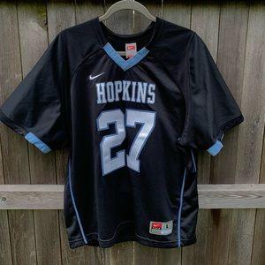 Hopkins lacrosse jersey